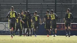Serie C, Mokulu decisivo: Juventus U23-Arzachena 1-0. Carrarese corsara a Novara: 2-1