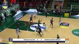 Sidigas Avellino-Germani Basket Brescia 79-67