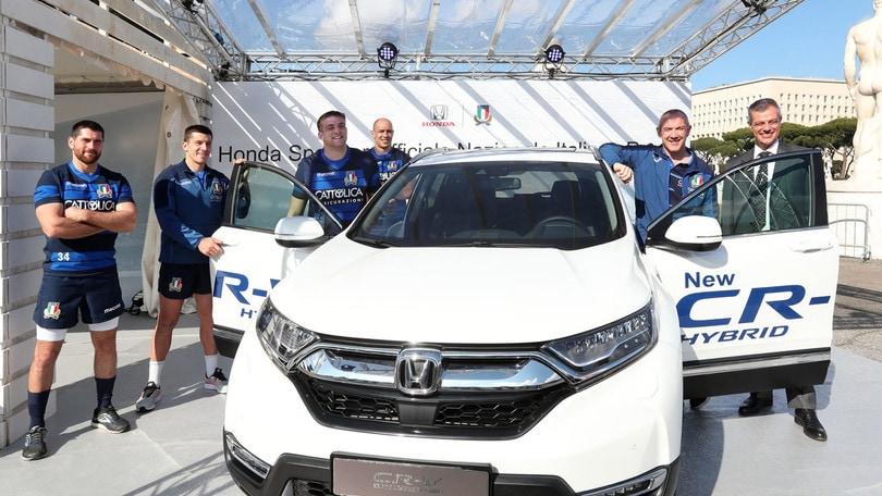 Honda sponsor della Federazione Rugby