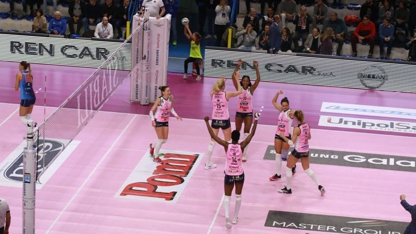 Volley: A1 Femminile, stecca Scandicci, ok Novara e Conegliano