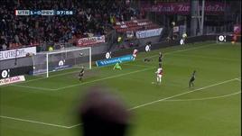 Utrecht-PSV, cavalcata e gol di Kerk
