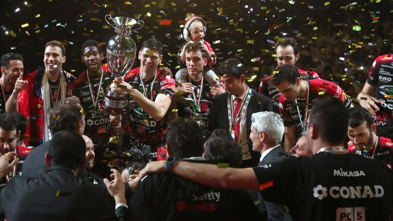 Volley: la Coppa Italia è di Perugia, Civitanova cade ancora in finale