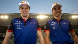 F1, ecco la nuova Toro Rosso di Kvyat e Albon