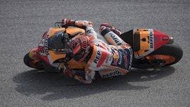 MotoGp Honda, Marquez: «Non ho ancora spinto al massimo»