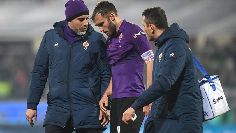 Serie A Fiorentina, per Pezzella lesione di secondo grado al collaterale