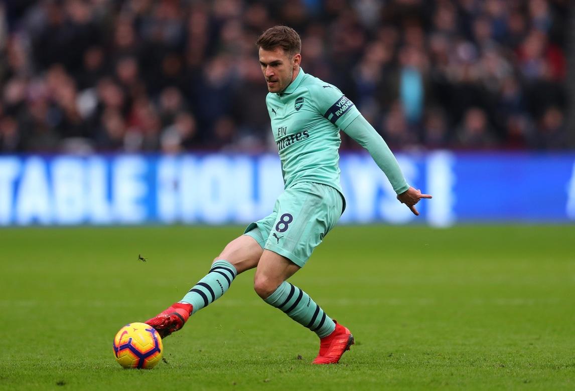 Juventus, ufficiale Ramsey: contratto dall'1 luglio 2019