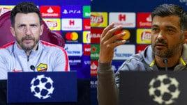 Roma-Porto, chi ha più esperienza in Champions?