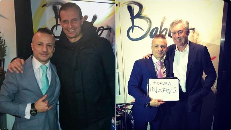 """Tutti pazzi per """"Babbo"""", il ristorante italiano dei brasiliani Willian e David Luiz"""