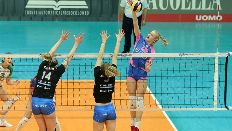 Volley: Challenge Cup Femminile, Monza sul campo del Calcit
