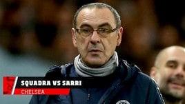 Chelsea, i giocatori contro Sarri