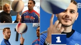 Facce da freestyle: l'Inter si diverte col basket