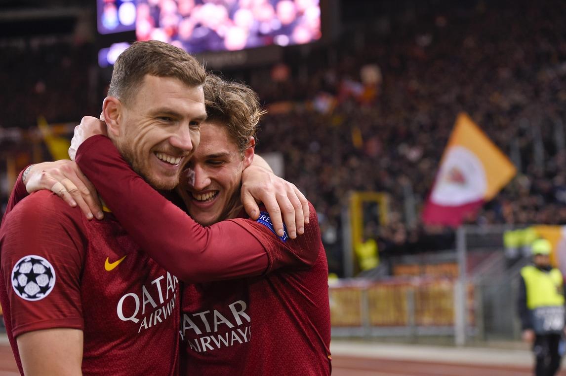 Champions League, Roma-Porto 2-1: Zaniolo, doppietta da urlo