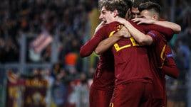 Champions, Zaniolo trascina la Roma: i quarti valgono 1,50