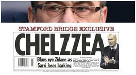 «Chelsea, l'obiettivo per il dopo Sarri è Zidane»