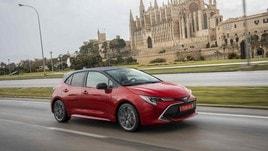 Toyota Corolla Hybrid, test su strada