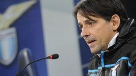 Europa League, Lazio, Inzaghi: «Immobile? Più no che sì»