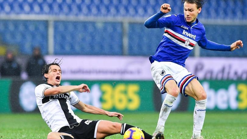 Serie A Sampdoria, seduta personalizzata per Ekdal
