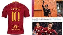 Roma, il dibattito è già inarrestabile sui social: a Zaniolo la 10 di Totti!