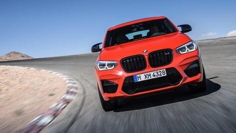 BMW X3 M e X4 M, potenza da record