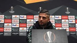 Insigne: «Che delusione retrocedere in Europa League, ora dobbiamo vincerla»