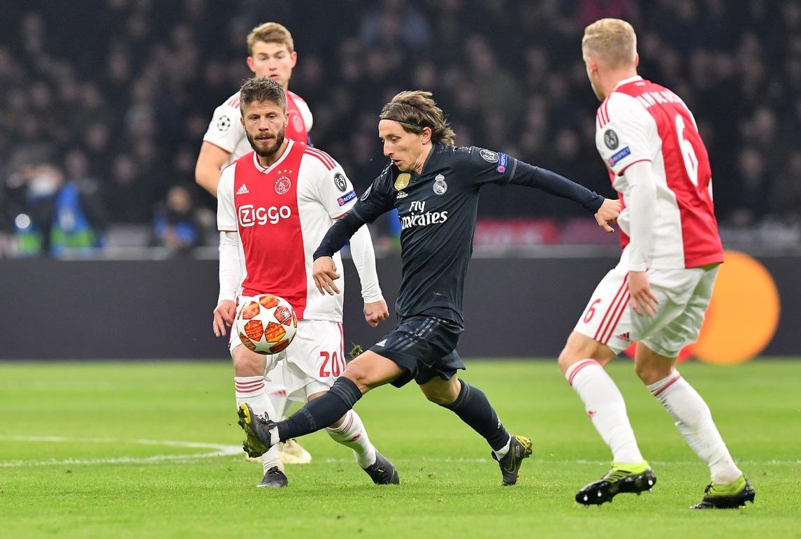 Real Madrid 1 2: Champions League, Ajax-Real Madrid 1-2. Tottenham-Borussia