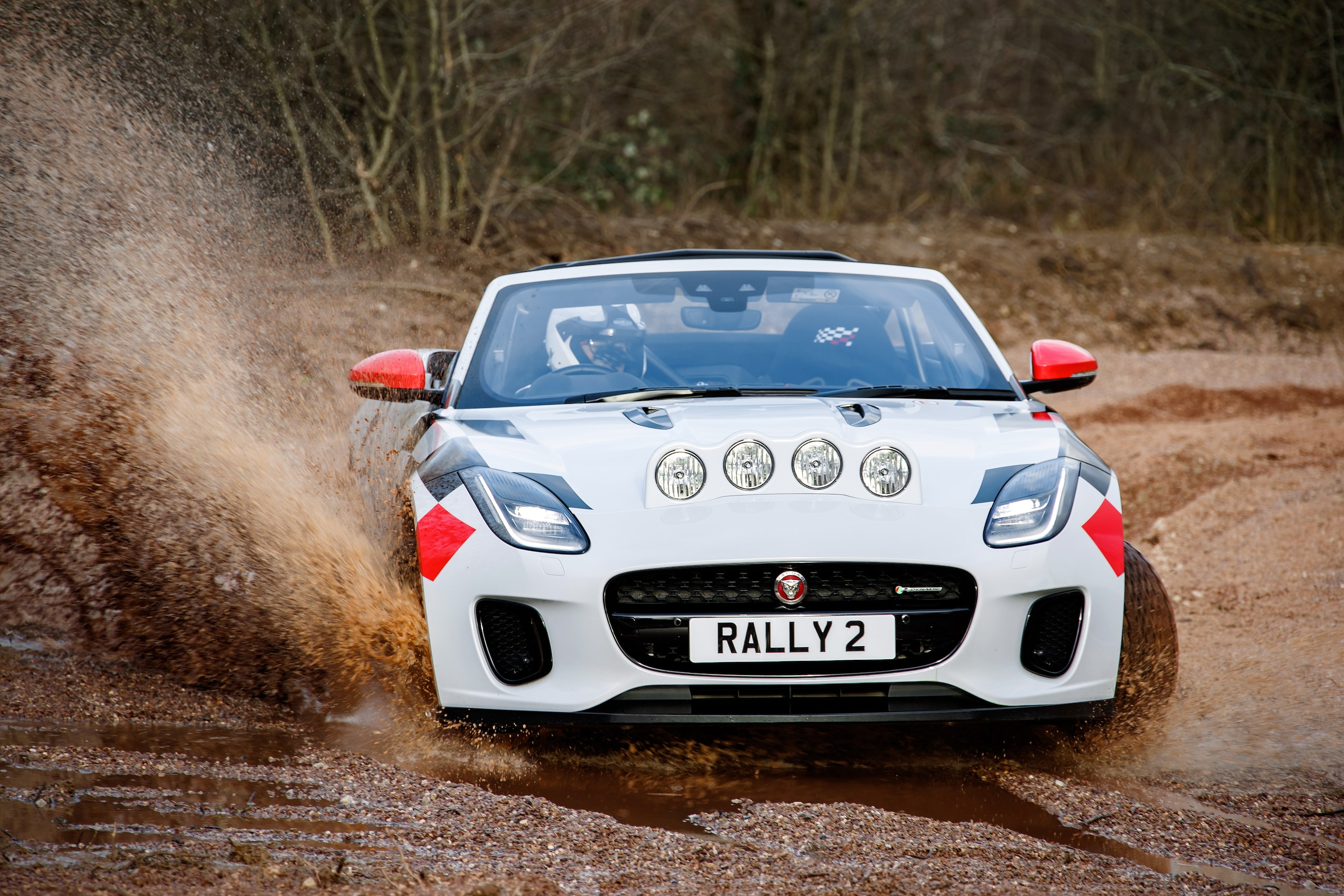 Jaguar F-Type Rally, a prova di traversi