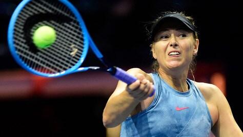 Maria Sharapova infortunata alla spalla: out per Indian Wells, incerto il rientro