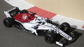 F1, primi giri in pista per l'Alfa Romeo Racing