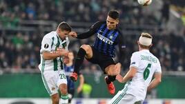 Europa League Rapid Vienna-Inter 0-1, il tabellino