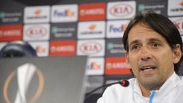 Europa League, Inzaghi: «La Lazio meritava il pareggio»