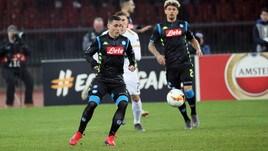 Europa League Zurigo-Napoli 1-3, il tabellino