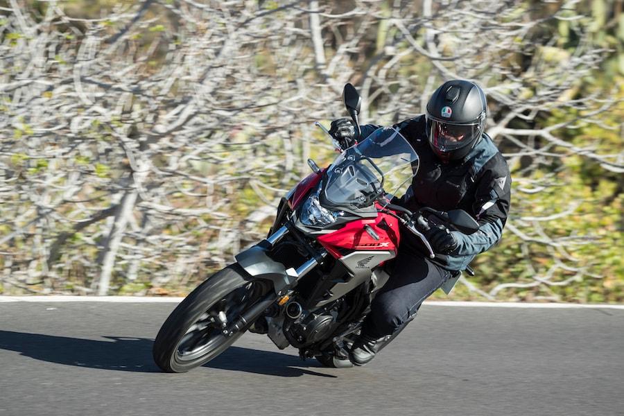 Test Honda CB500X 2019 - LE FOTO