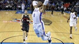 NBA, Westbrook non basta a OKC: vince New Orleans. Ok Orlando e New York