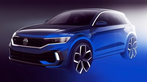 Volkswagen T-Roc R, ecco il teaser ufficiale
