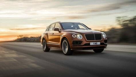Bentley Bentayga Speed, velocità massima da record