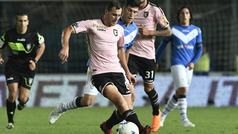 Serie B Palermo-Brescia, probabili formazioni e diretta dalle 21. Dove vederla in tv