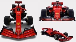 F1, ecco svelata la nuova Ferrari SF90