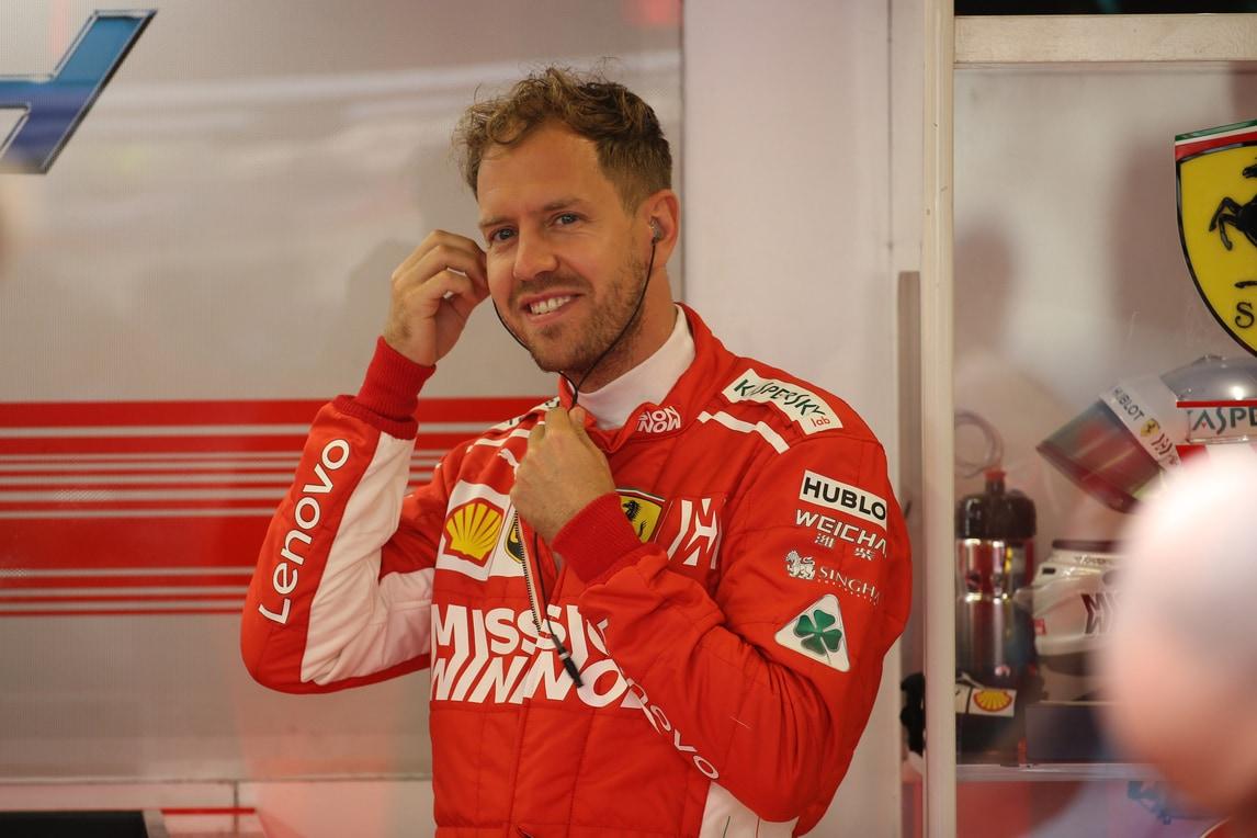 F1 Ferrari, Vettel: «Siamo sulla strada giusta, non vedo l'ora»