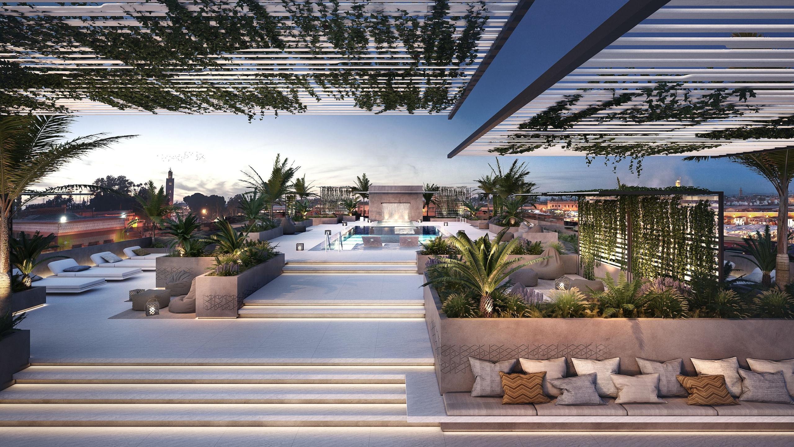CR7 hotel a Marrakech, ecco le foto della nuova struttura
