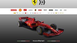 F1: svelata la Ferrari, il Mondiale sogno a 3,50