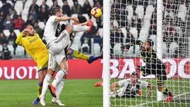Juventus-Frosinone 3-0: in gol Dybala, Bonucci e Cristiano Ronaldo