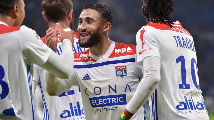 Ligue 1, ruggito del Lione. Il Rennes cade a Digione
