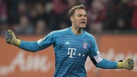 Bundesliga, Augsburg-Bayern Monaco 2-3: Coman e Alaba firmano la rimonta