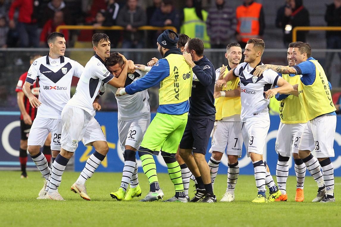 Serie A Palermo-Brescia 1-1. Tremolada tiene Corini in vetta