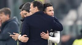 Allegri: Juve in crescita, a Madrid serve il gol. Icardi? Segna...