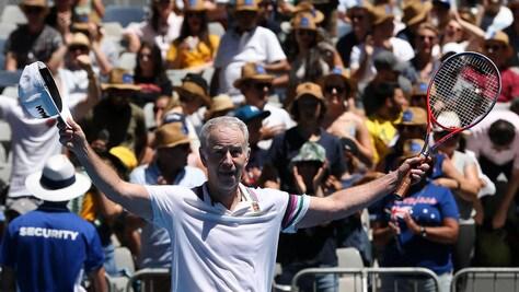 Tennis: McEnroe, i 60 anni di una leggenda