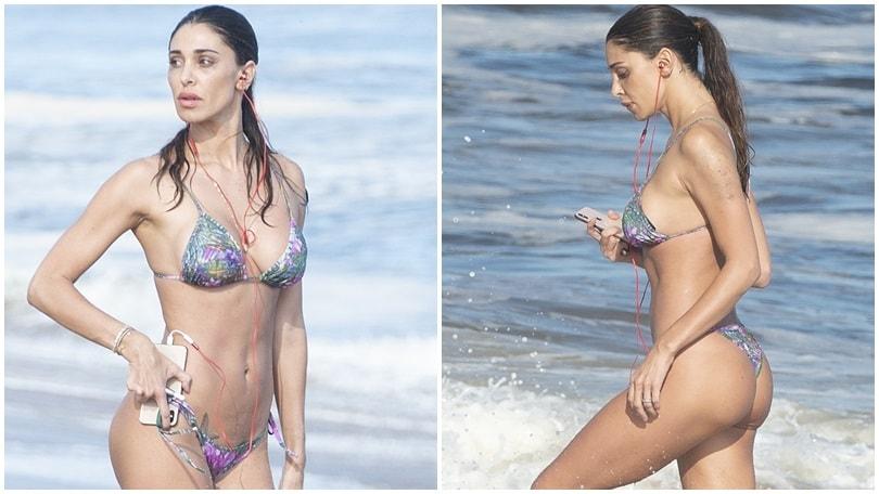 Calendario Belen Rodriguez.Belen Rodriguez Hot A Sanremo Young Il Vestito E Scandaloso