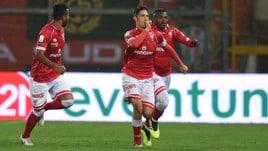 Serie B, Melchiorri in extremis, il Perugia espugna Carpi. Coda decisivo in Benevento-Cittadella