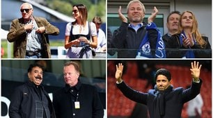 Calcio, i 10 presidenti più ricchi: ci sono due club italiani
