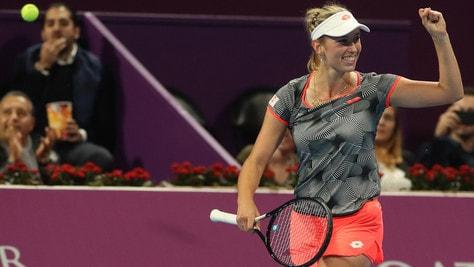 Tennis WTA Doha: titolo alla Mertens, battuta la Halep